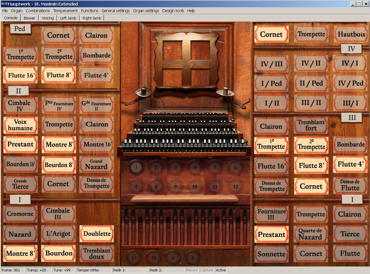 PC organ Hauptwerk virtual software organ on computer via midi ...